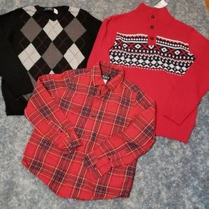 Lot of boy's Children's Place size 7/8 tops